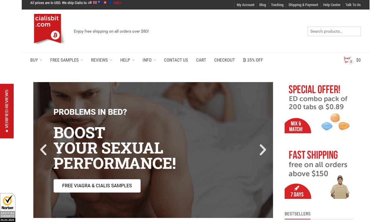 Cialisbit.com Main Page