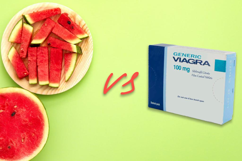 Watermelon Vs Viagra