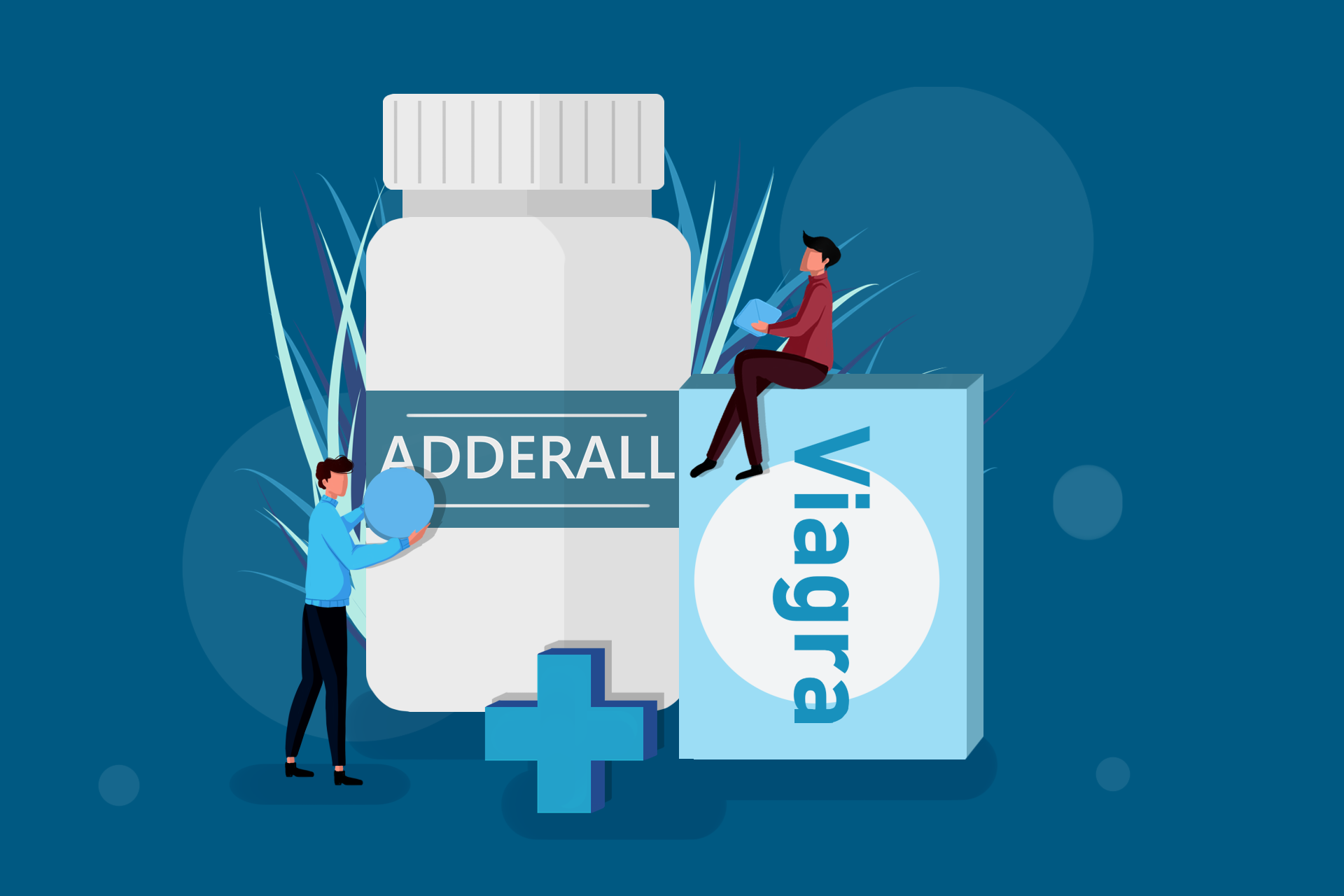 Viagra and Adderall Stack