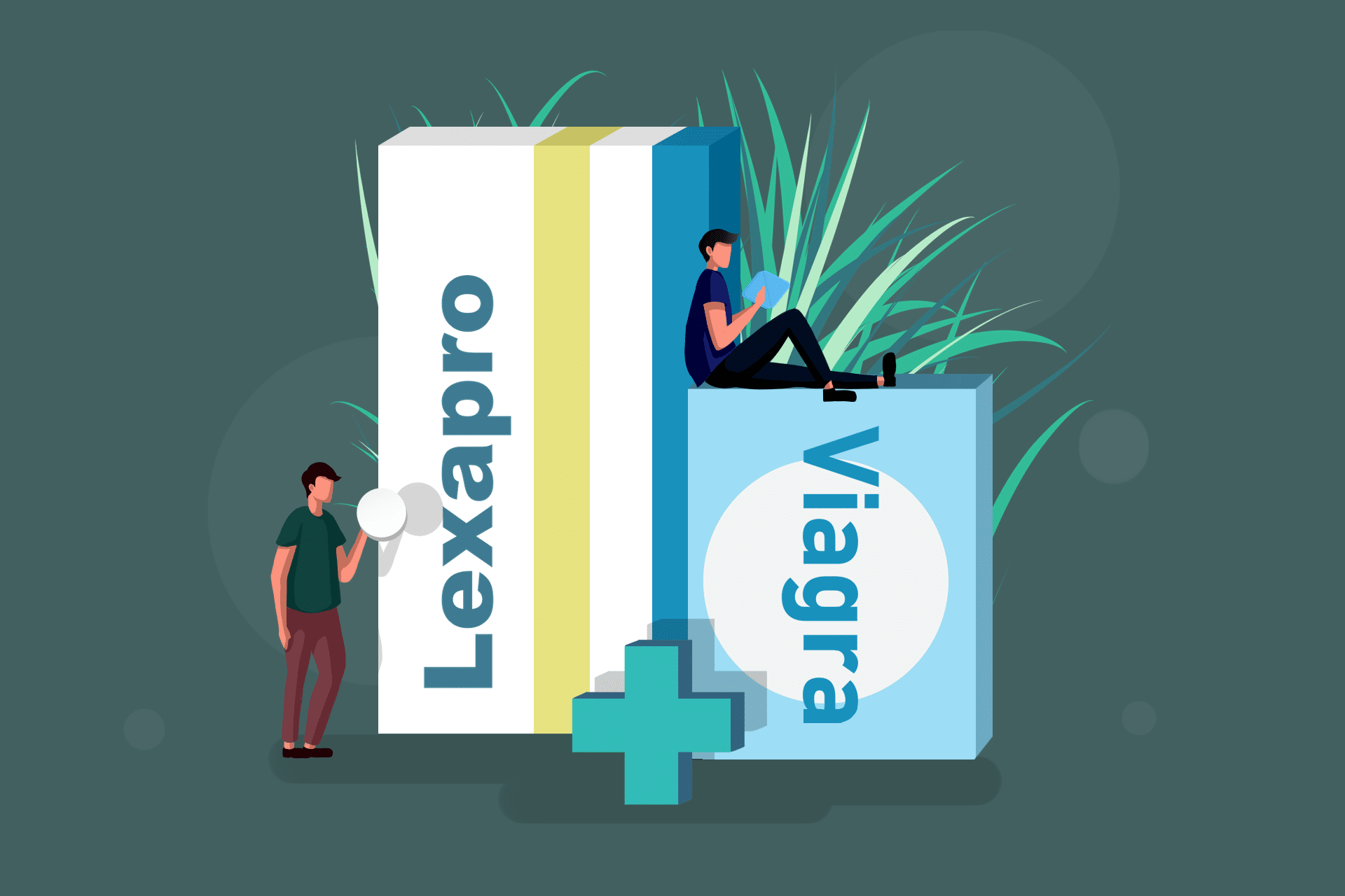 Viagra and Lexapro Stack