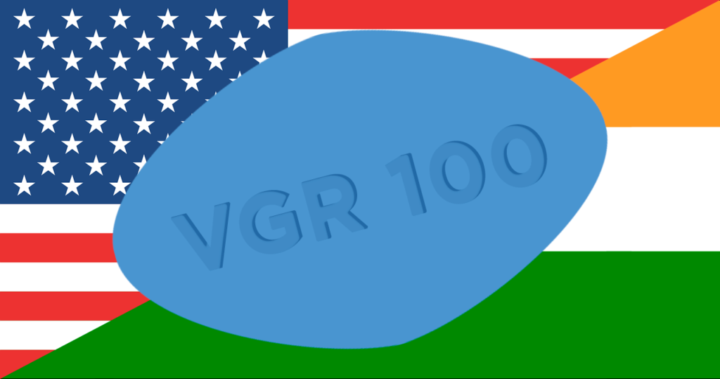 Viagra from the USA and India