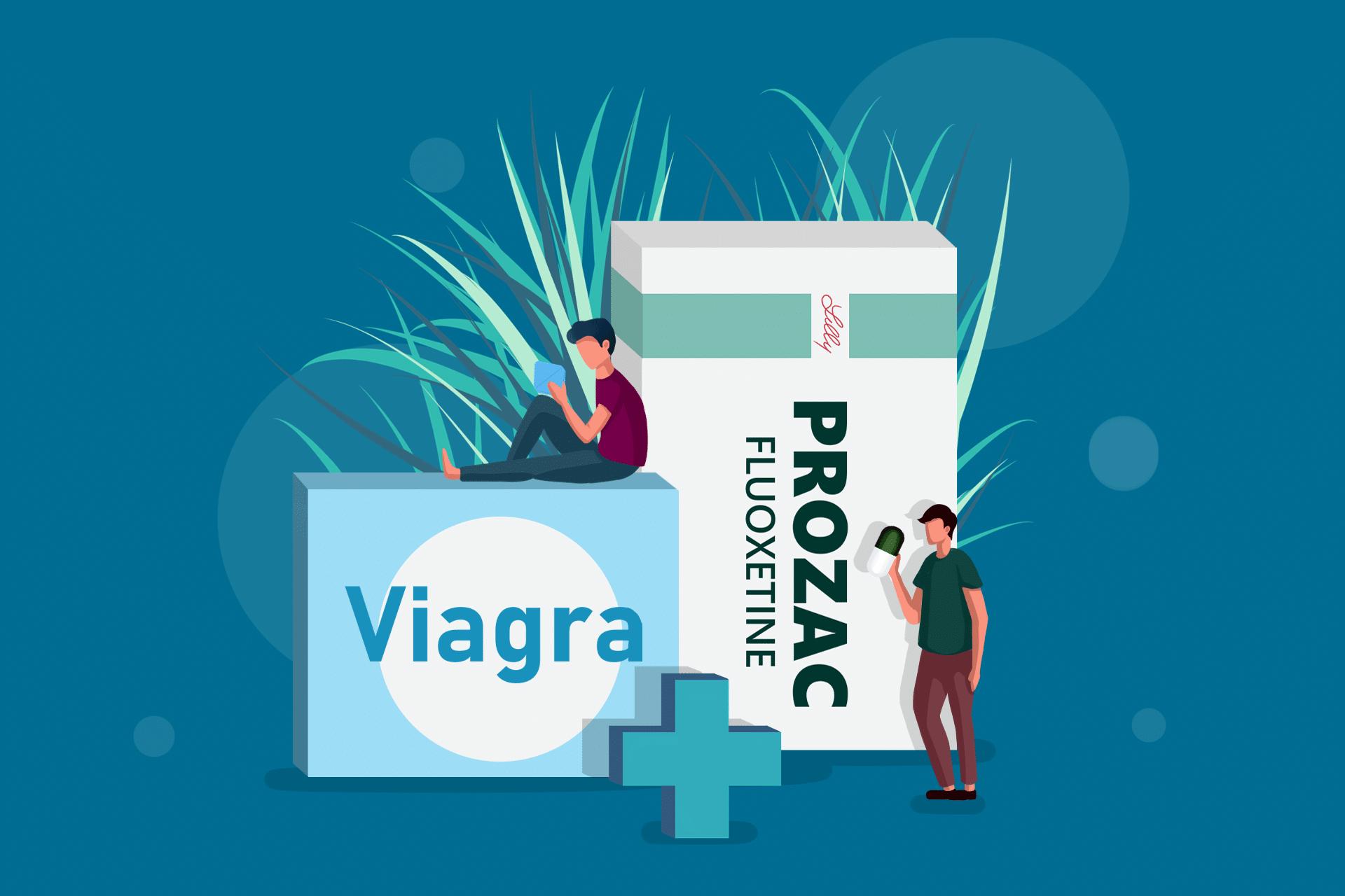 Viagra and Prozac Stack