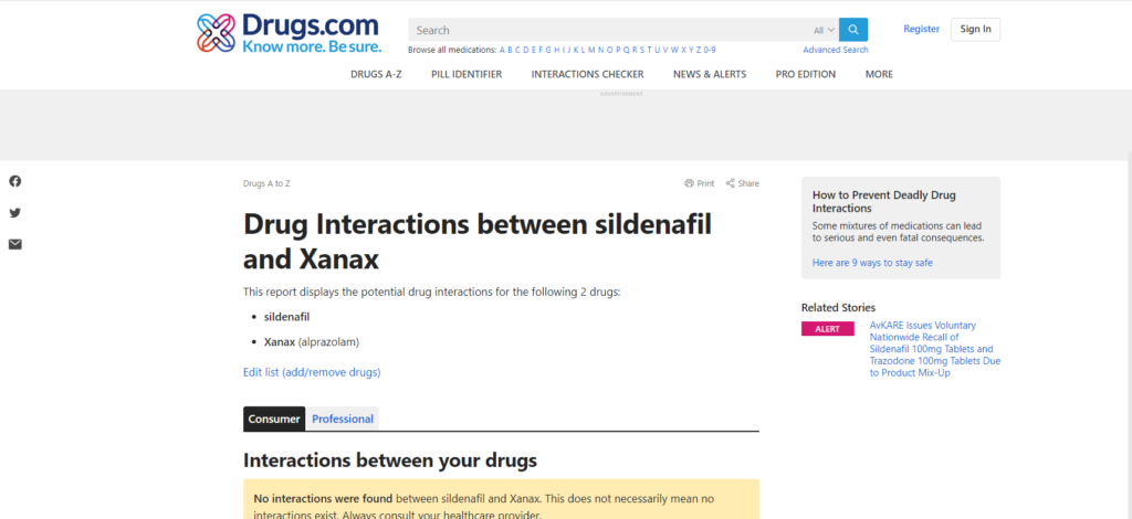 About Drug Interactions at Drugs.com